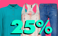 ,  ! - 25%