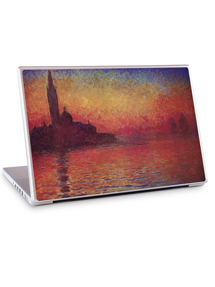 "�������� ��� �������� 13.3 � 14.1"" Sunset in Venice-Claude Monet Gelaskins 04601428"