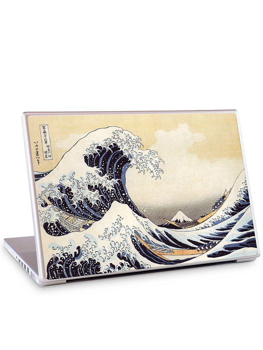 "Наклейка для ноутбука 15.4"" The Great Wave-Katsushika Hokusai Gelaskins 04611448"