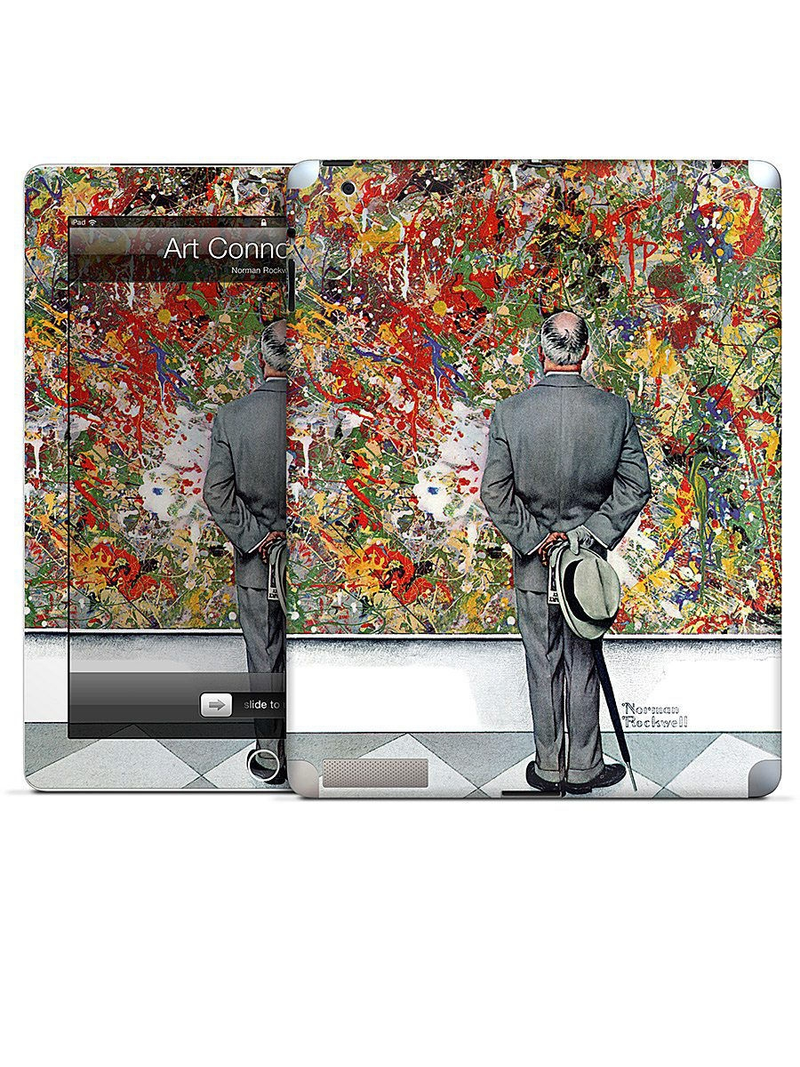 ��������� �������� ��� iPad 2,3,4 Art Connoisseur-Norman Rockwell Gelaskins 05230855