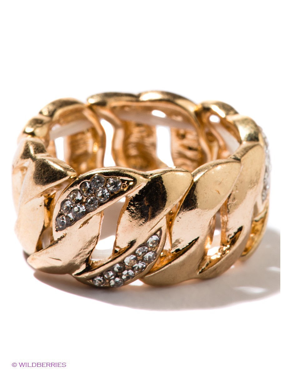 Кольцо Taya T-B-6343-RING-GOLD