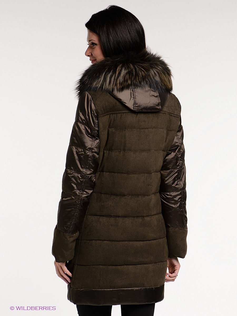 Пуховик Acasta ACBSW14DC46/DARKBROWN: изображение 2