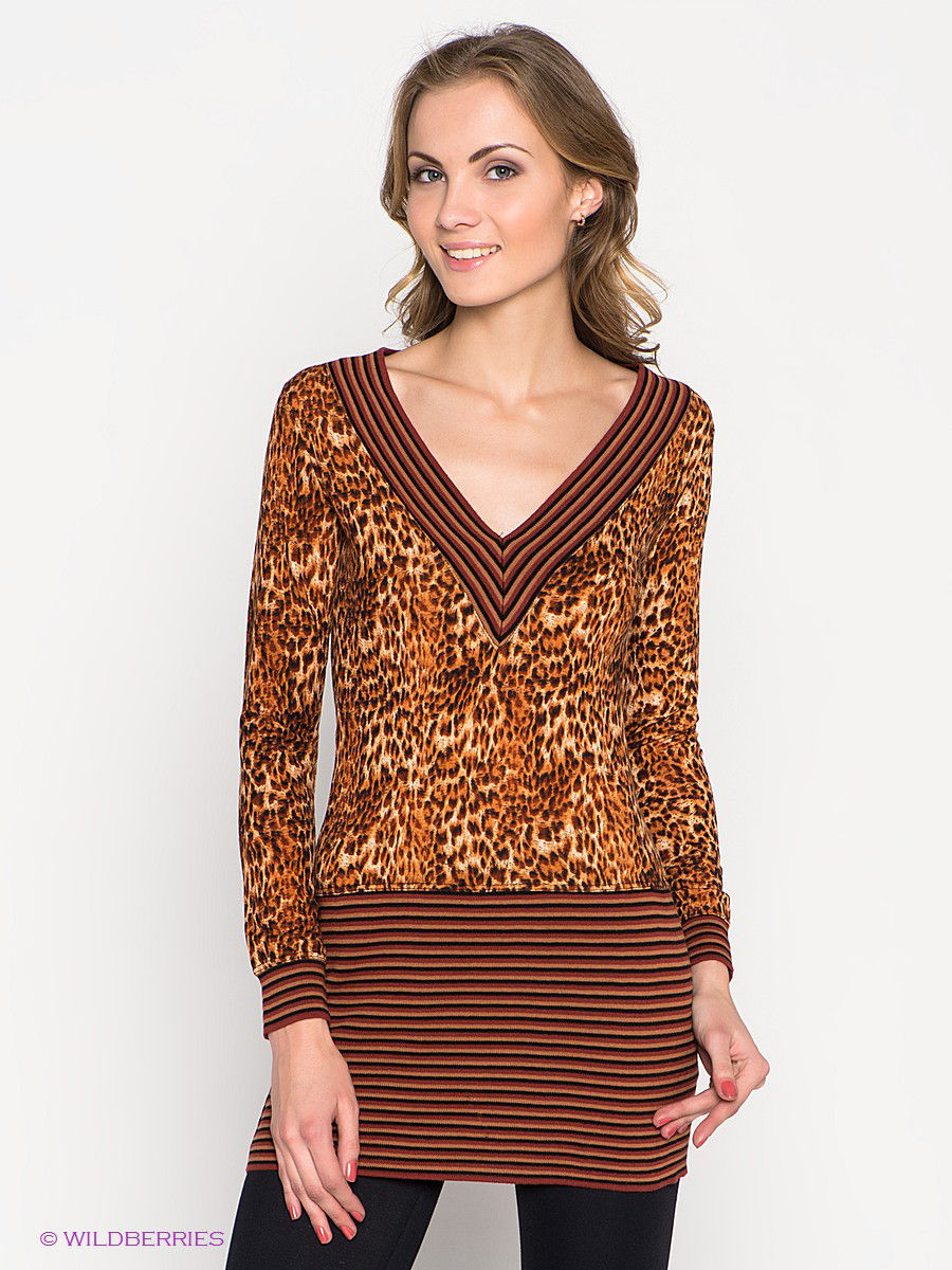 Туника TOPSANDTOPS 5151-2808/brown