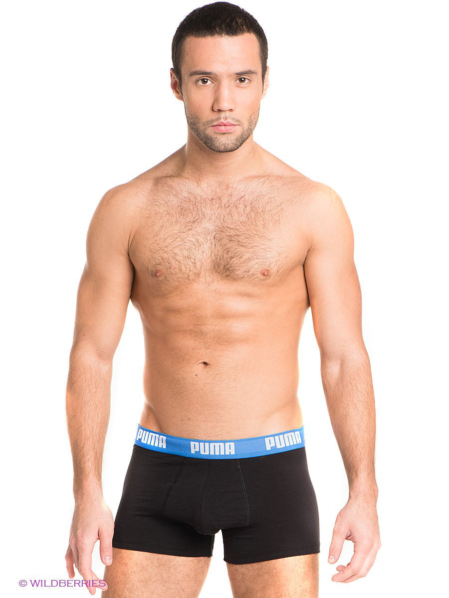 Трусы Puma Basic Shortboxer, 2 шт. 88887011