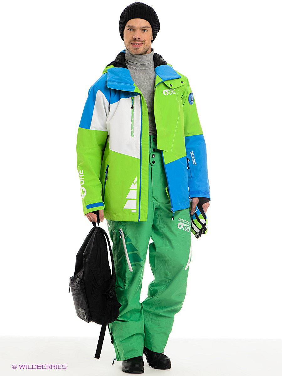 Брюки Picture Organic MPT007/Green