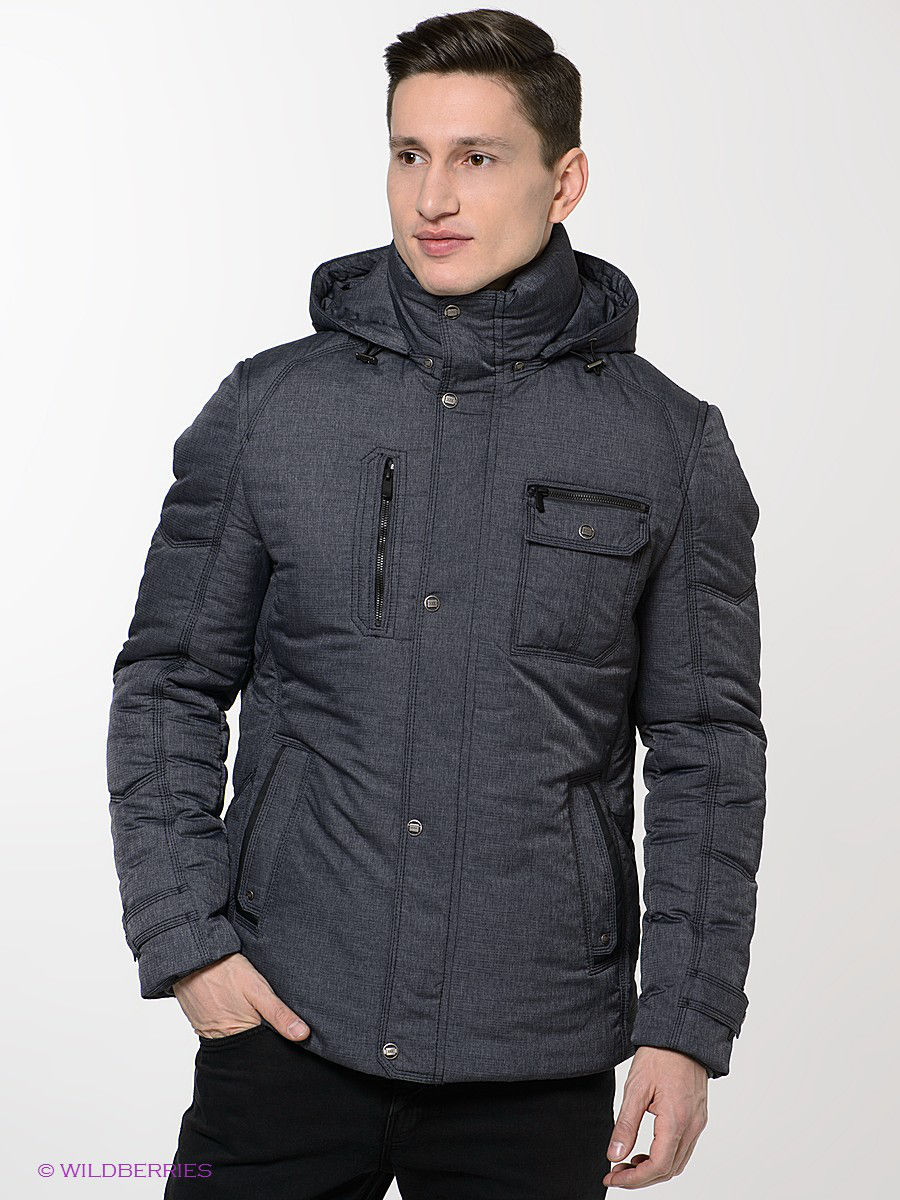 Куртка Absolutex 4007DKNAVY-GREY/серо-синий