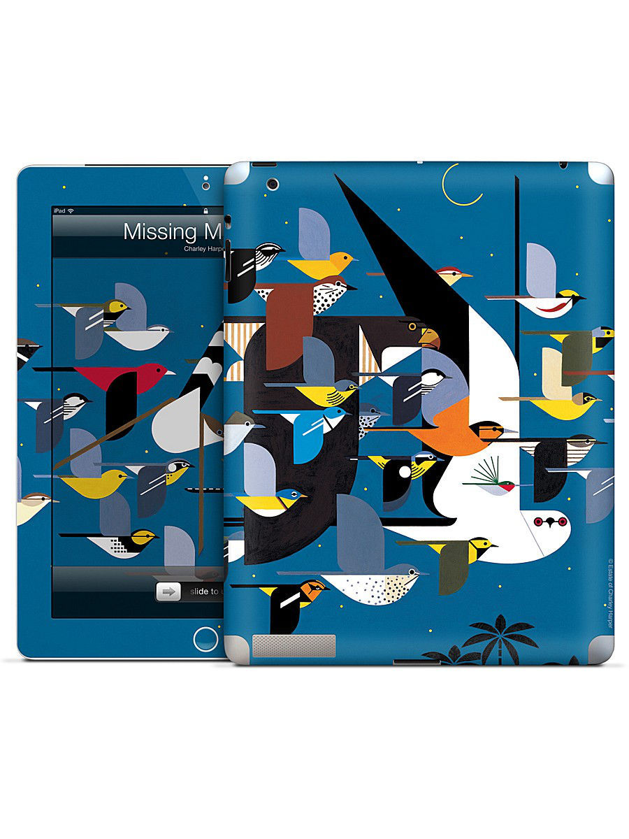 Наклейки для техники Gelaskins Наклейка для iPad 2,3,4 Missing Migrants-Charley Harper