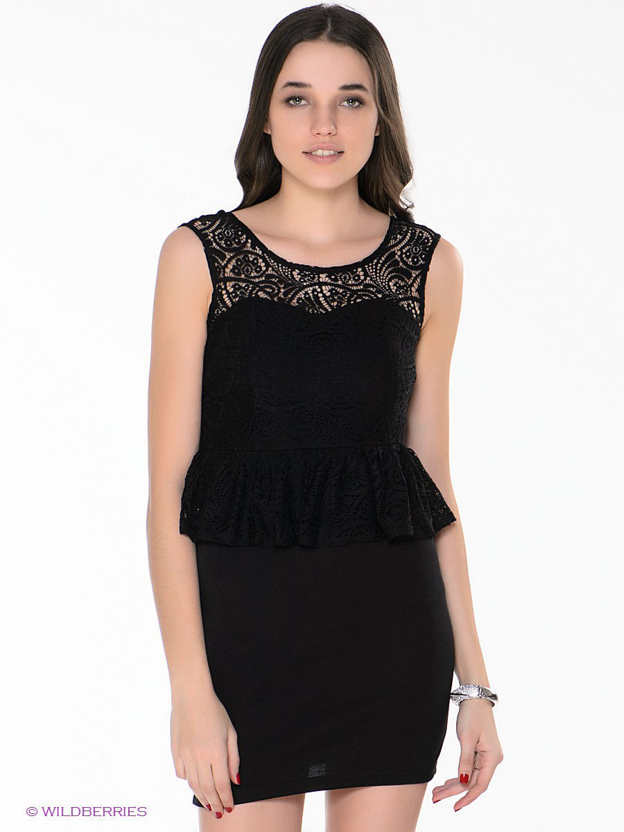 Платье-мини Outfitters Nation 24014382/Black
