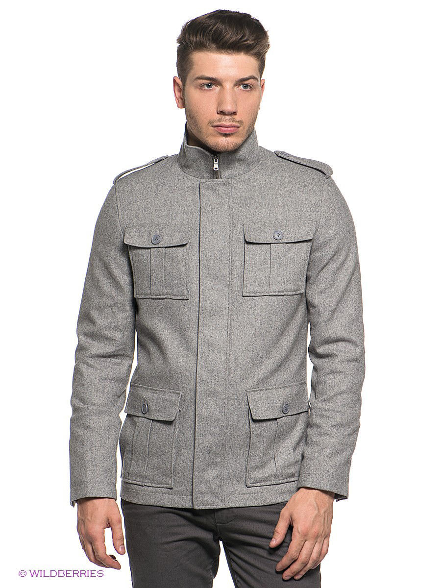 Куртка Urban fashion for men ALFNYW14CO504/DARKGREY