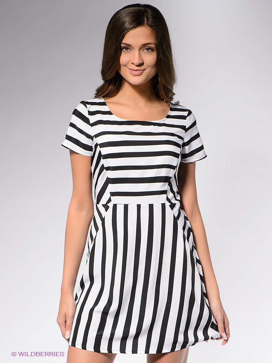 Платья MAVI Платье STRIPED DRESS mavi ma008emrqn47