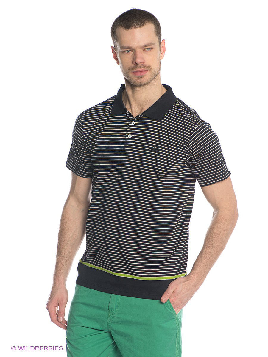Поло Quiksilver Футболка-поло  STRIPE POLO MSP hawk hkem1208 06 pink