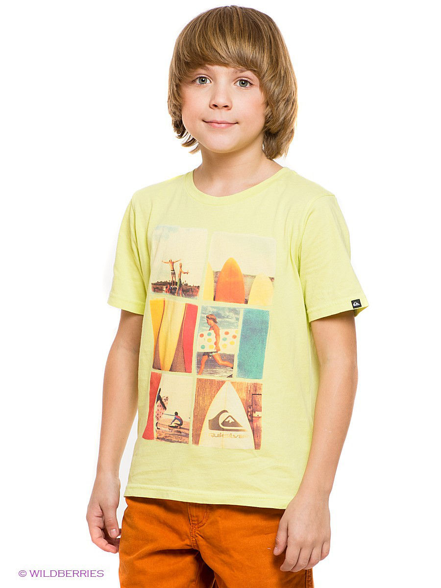 Quiksilver Футболка  SS NOMAD ORGANIC TEE YOUTH L10