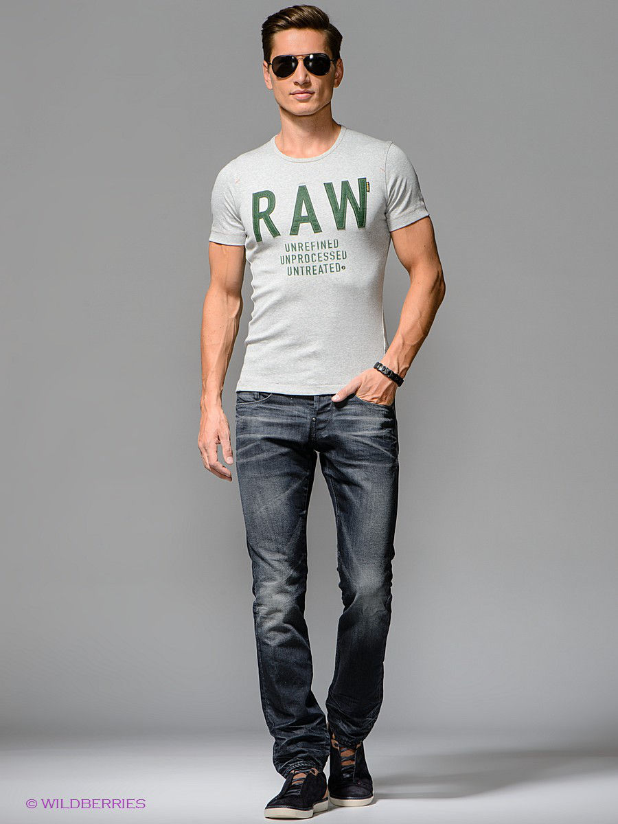 Джинсы new radar slim G-STAR RAW 507405760071