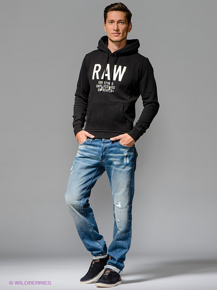 Джинсы 3301 low tpd rl G-STAR RAW 5077846383142