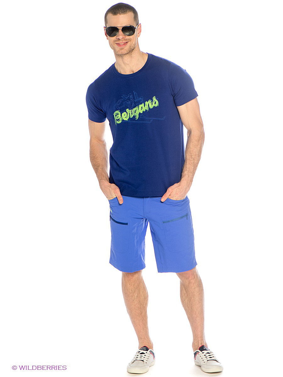 Мужские шорты Bergans 7178/WarmCobalt/InkBlue: изображение 1