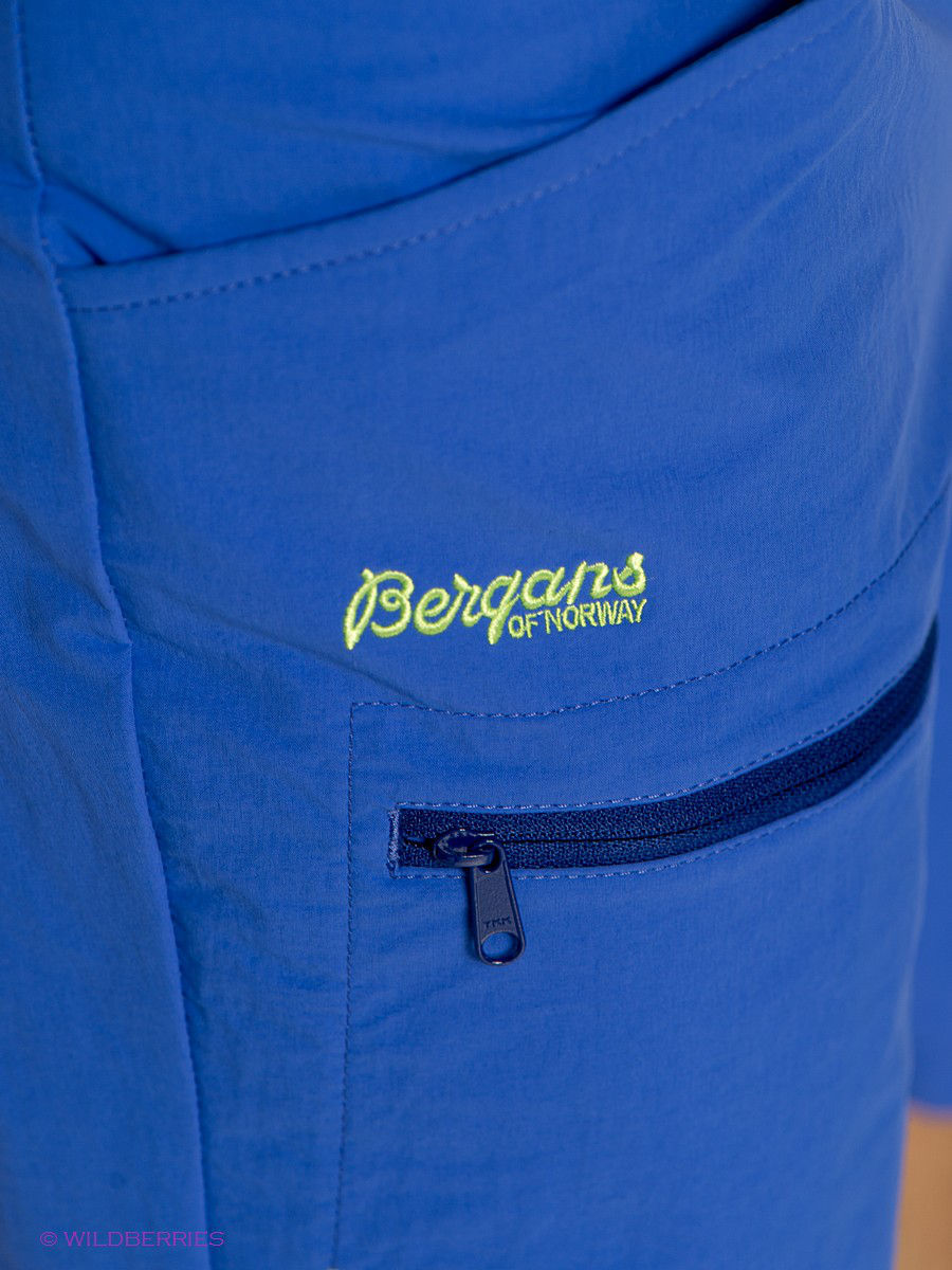 Мужские шорты Bergans 7178/WarmCobalt/InkBlue: изображение 4