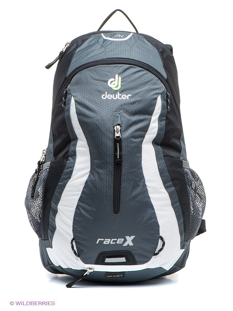 Рюкзаки Deuter Рюкзак велорюкзак deuter race black white 32113 7130