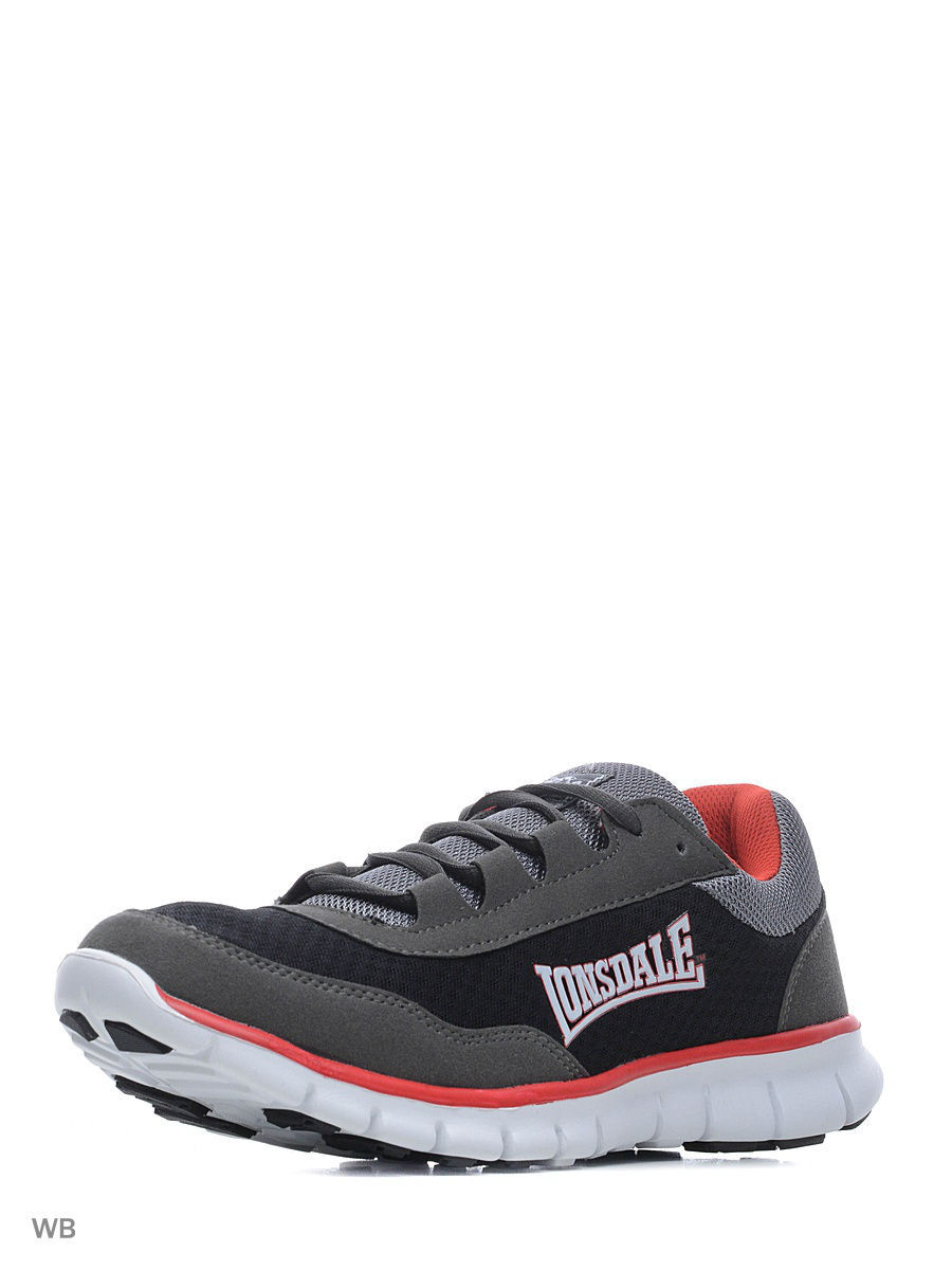 Мужские кроссовки Lonsdale ZLMA446BR2TC/BLK/GRY/RED