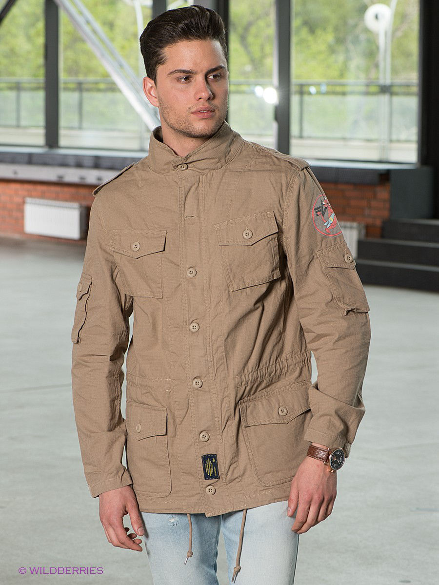 Куртка Alpha Industries (Альфа Индастриз) MJI44102C1/Khaki