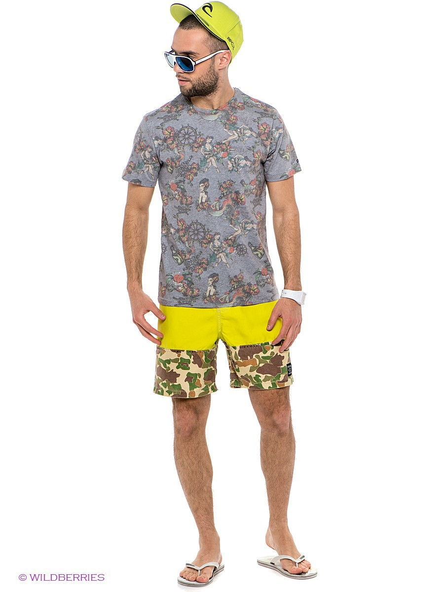 "Бордшорты TTH TRUNK 18"" BOARDSHORT Rip Curl CBO7GC/LIME"