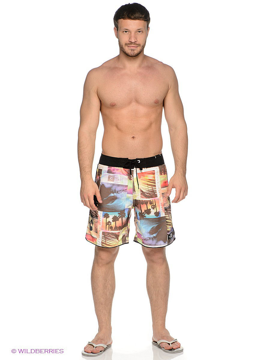 "Бордшорты T2T PARADISE 19"" BOARDSHORT Rip Curl CBO6AS/WHITE"