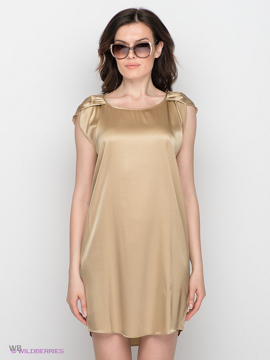 Платье-мини Joyce and Girls JAMINE3003-S2014/gold