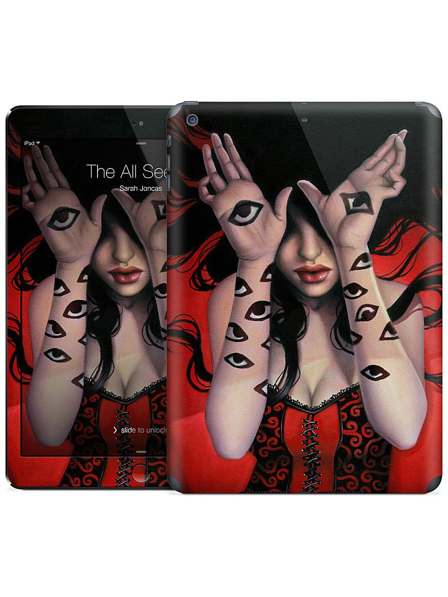 Наклейка на iPad Air The All Seeing - Sarah Joncas