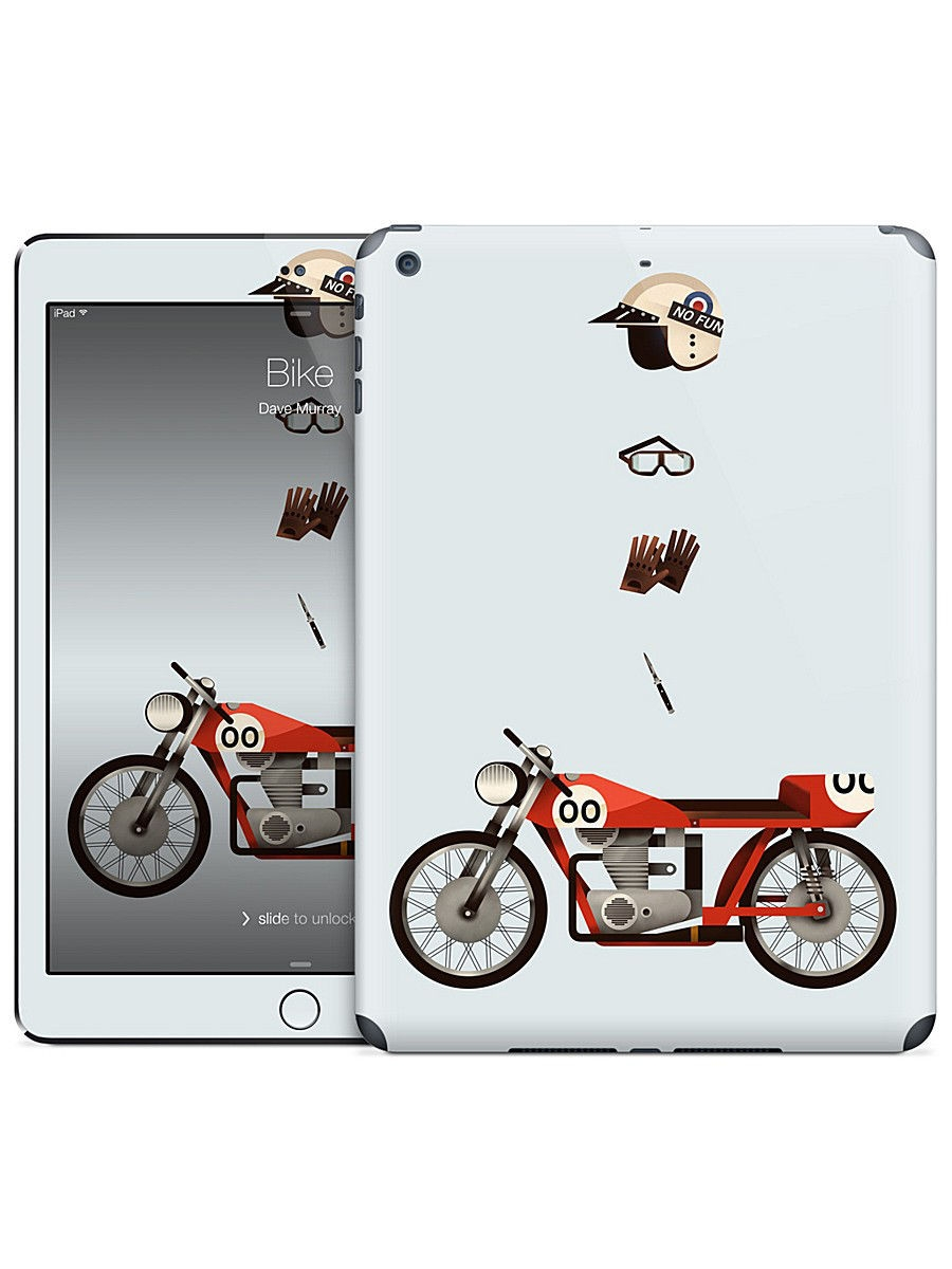 Наклейка на iPad Air Bike - Dave Murray Gelaskins 05671844