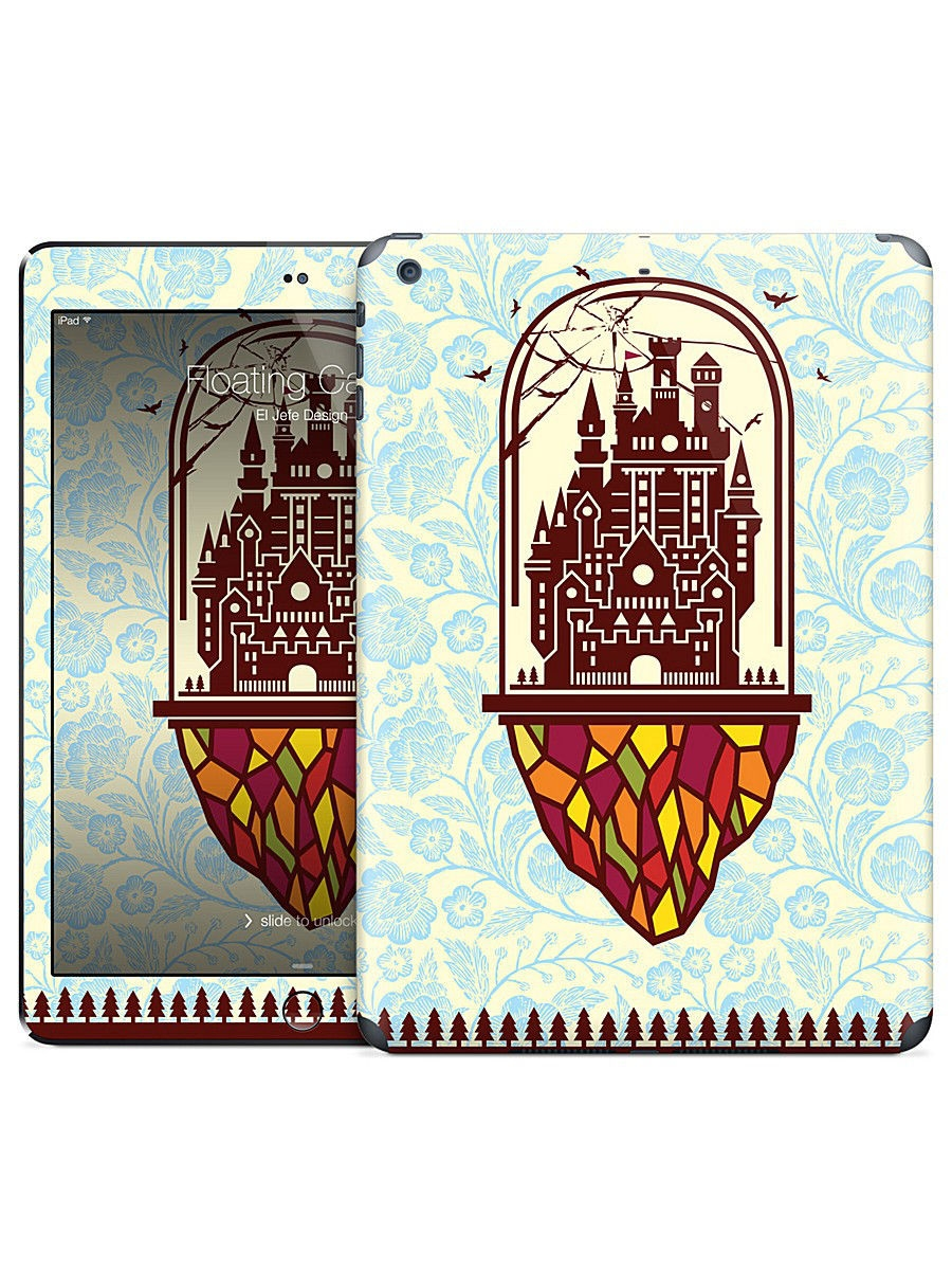 Наклейка на iPad Air Floating Castle - El Jefe Design Gelaskins 05671870