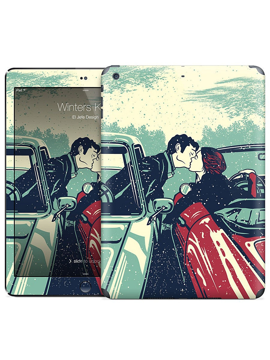 Наклейка на iPad Air Winters Kiss - El Jefe Design Gelaskins 05671885
