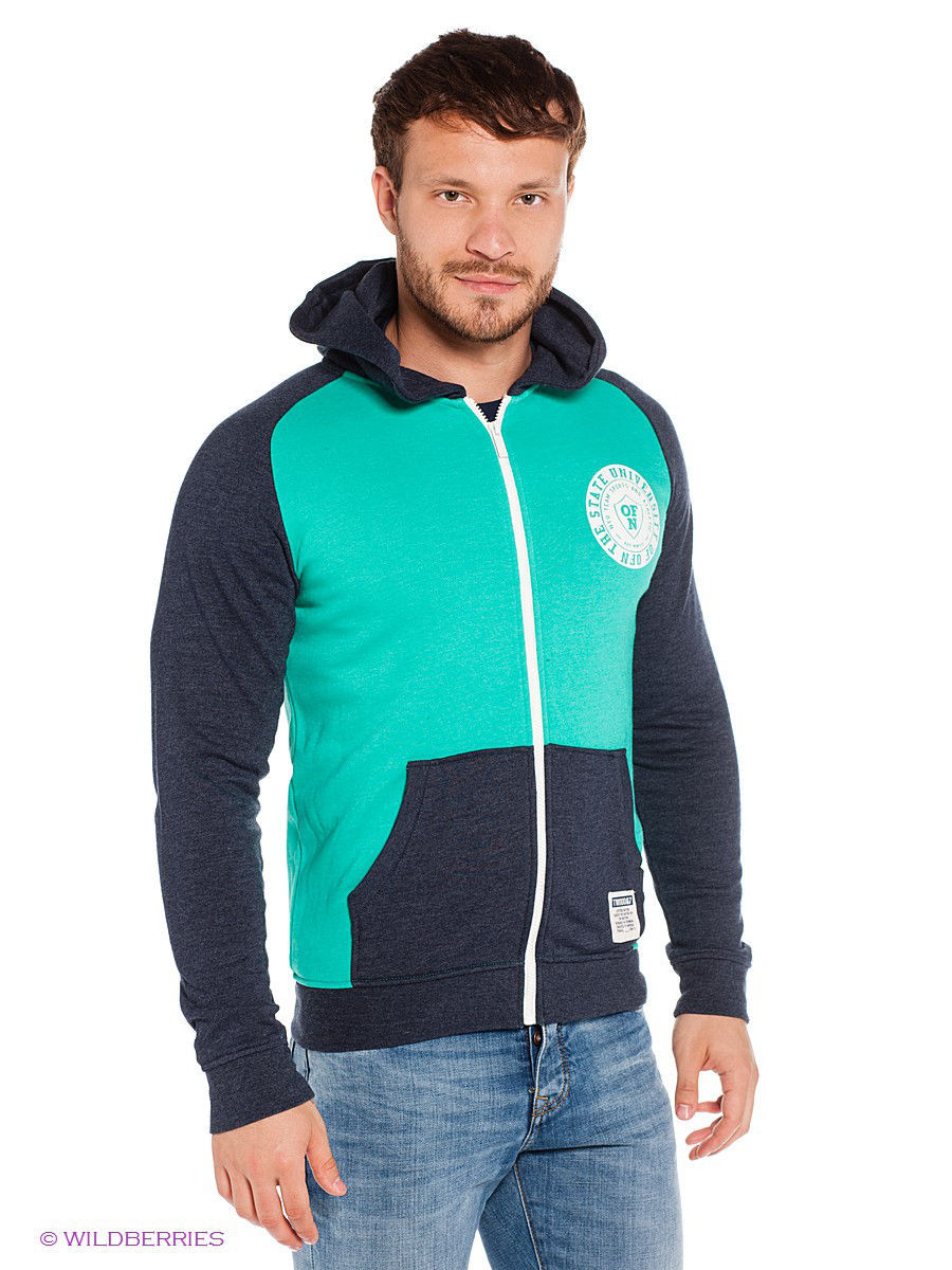 Толстовка Outfitters Nation 24015265/PoolGreen
