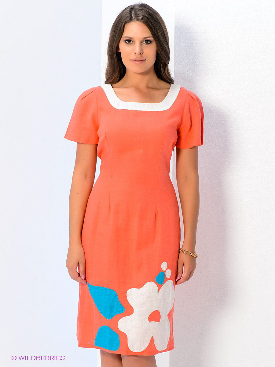 платье TOPSANDTOPS 6072-140414T/orange