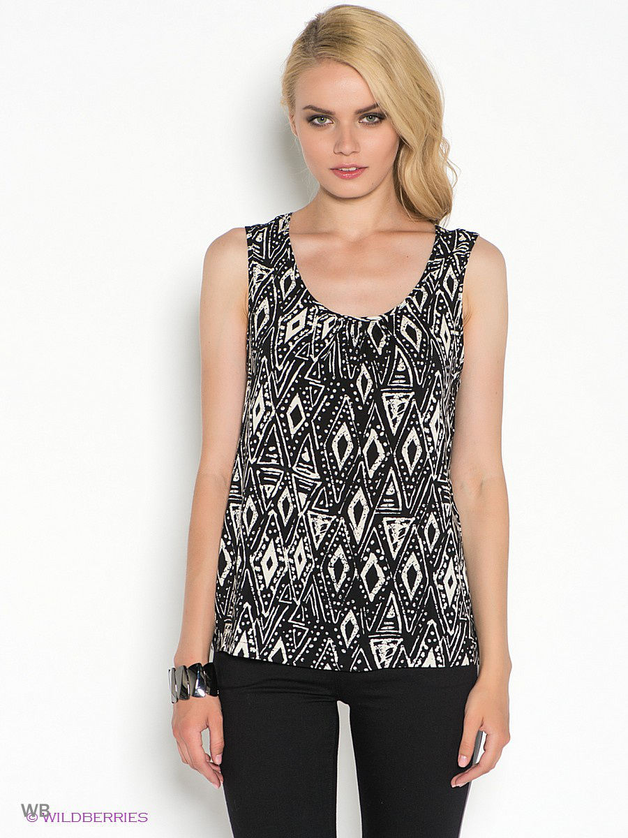 Топ Vero Moda 10108550/Black/TRIANGLE