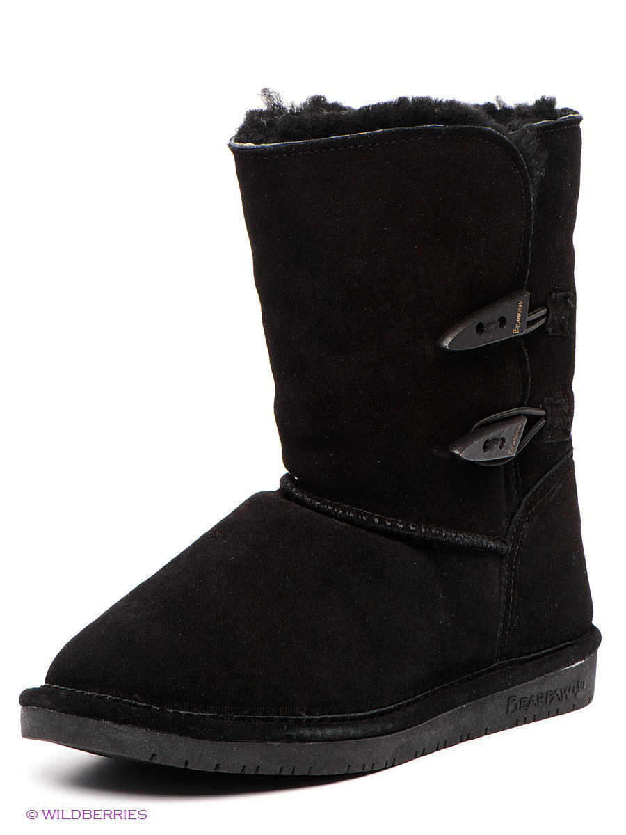 Женские угги Bearpaw 682W/Abigail/Black: изображение 1