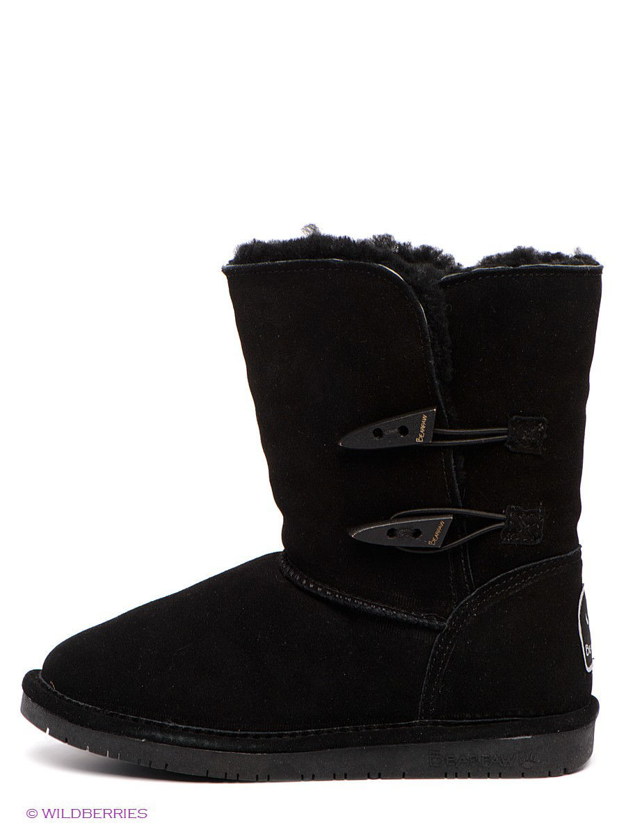Женские угги Bearpaw 682W/Abigail/Black: изображение 2
