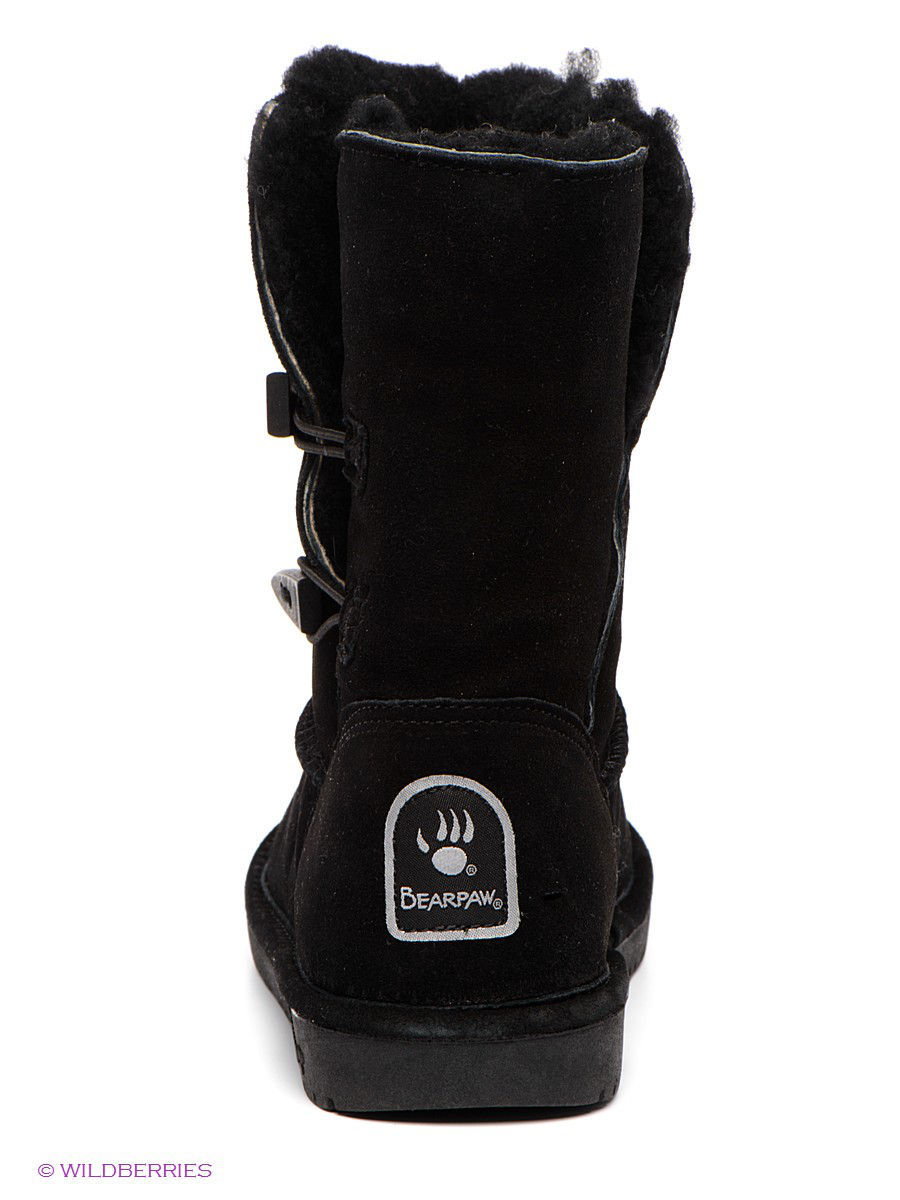 Женские угги Bearpaw 682W/Abigail/Black: изображение 5