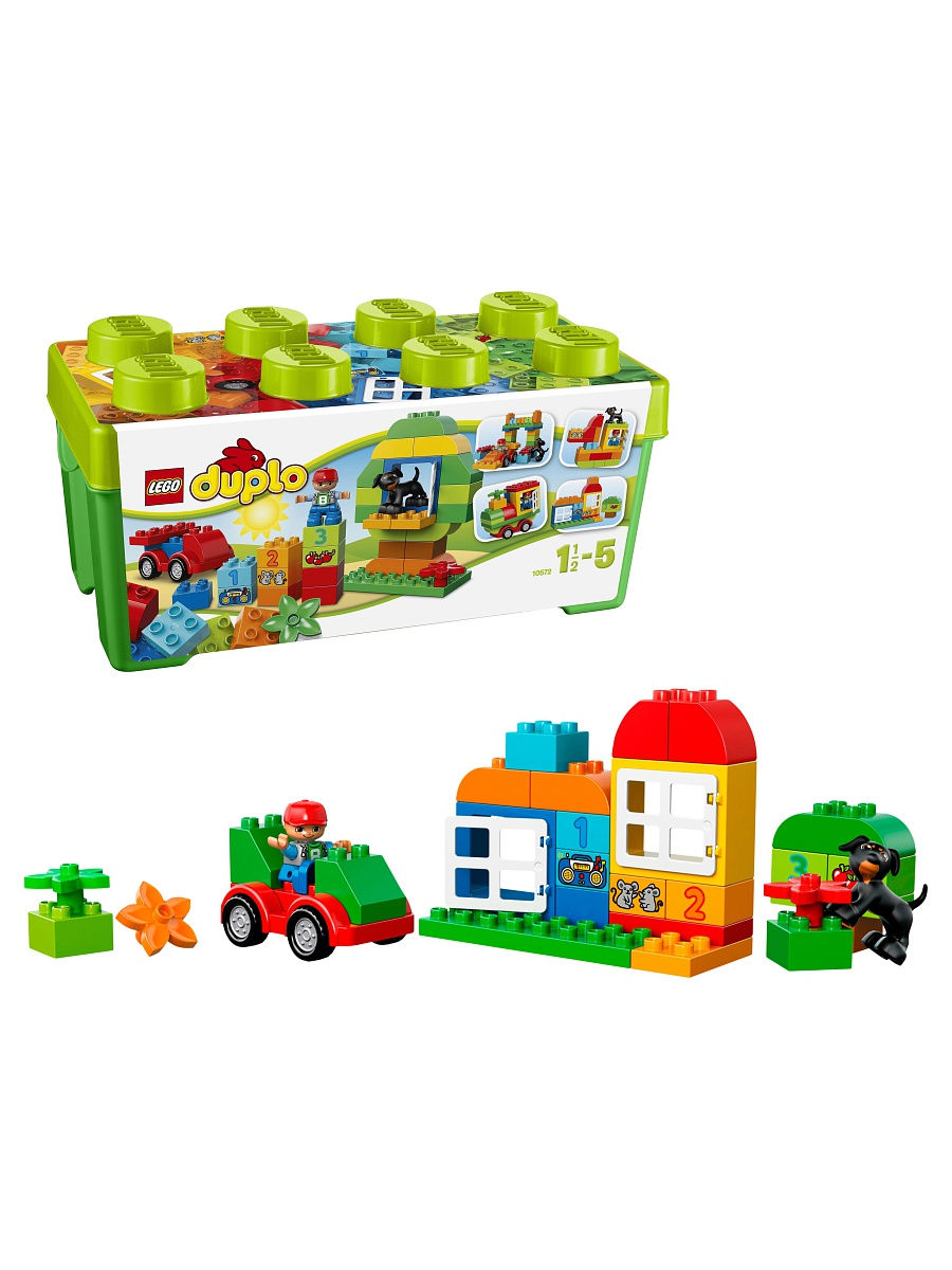 Конструкторы Lego LEGO DUPLO My First Механик 10572 конструкторы lego lego duplo my first поезд считай и играй 10847