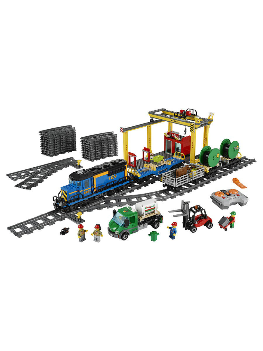 Конструкторы Lego LEGO City Trains Грузовой поезд 60052 lego грузовой поезд city