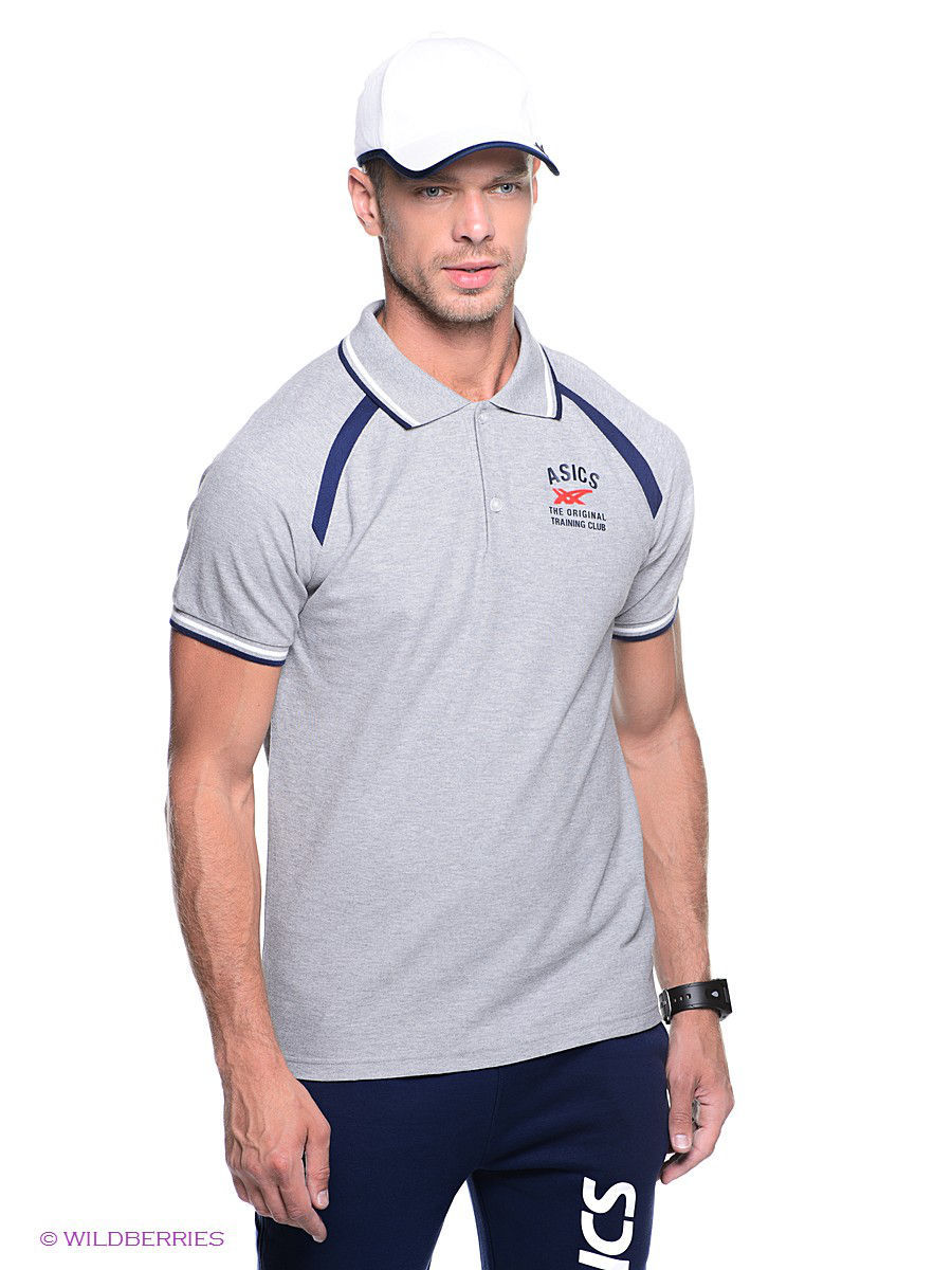 Футболка-поло SHORT SLEEVE POLO ASICS 110401/0715