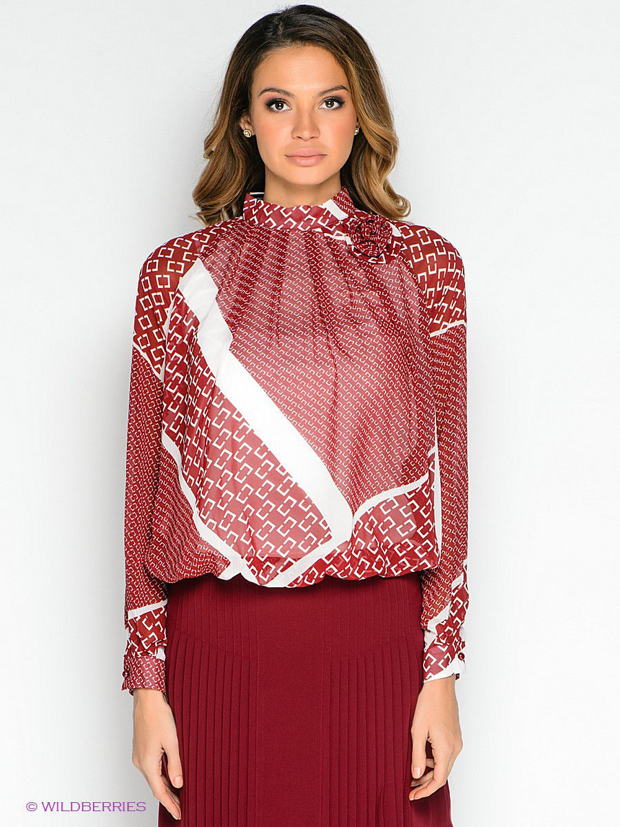 Блуза TOPSANDTOPS 135006-140712T/red