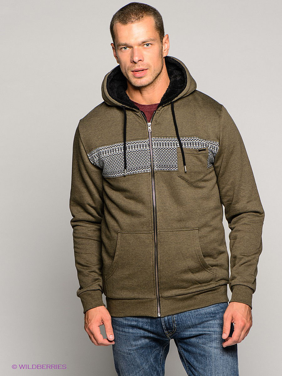 Толстовка Volcom A5831456/COVERT/GREEN