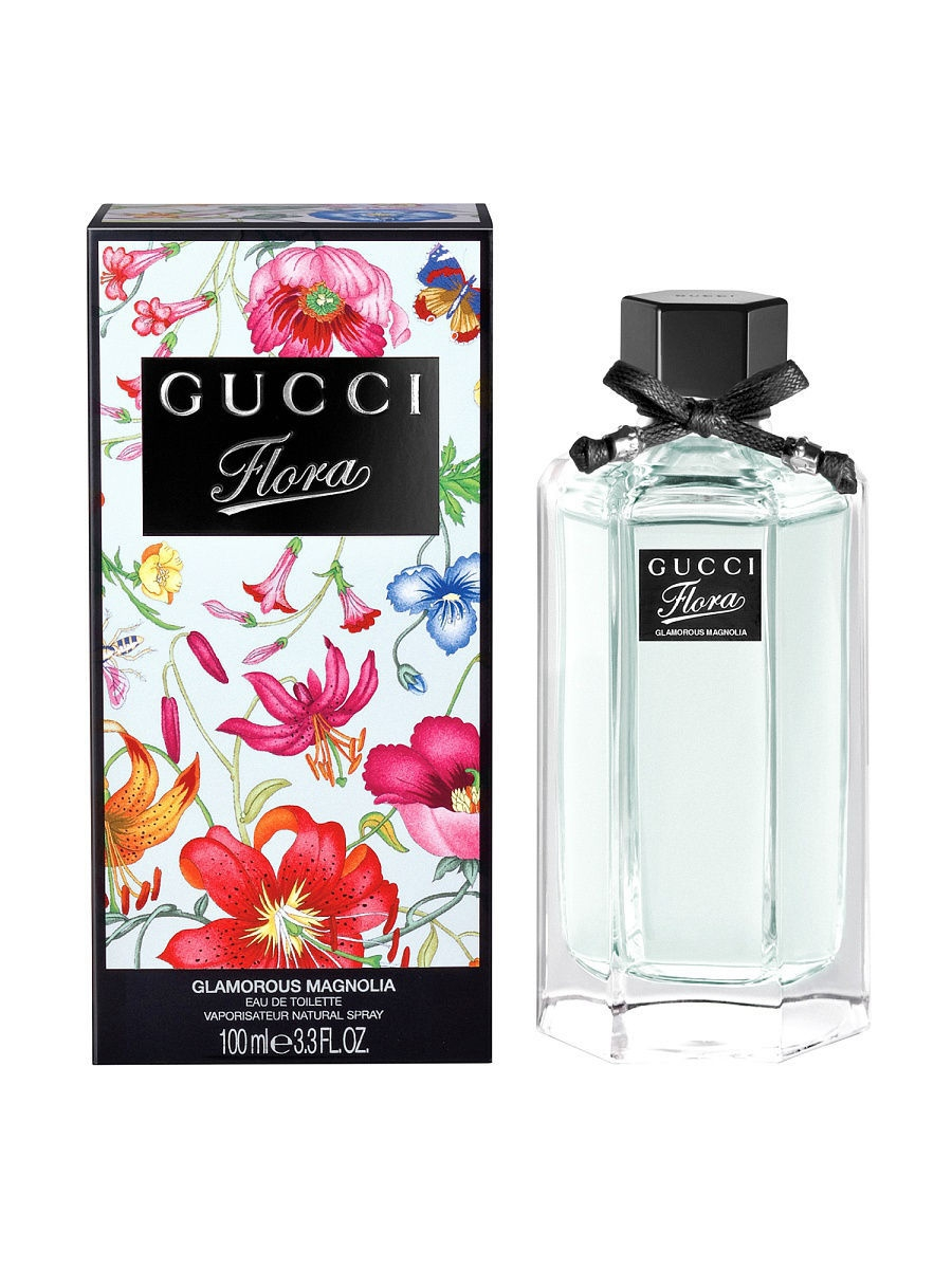 Туалетная вода GUCCI Gucci Flora Magnolia Ж Товар Туалетная вода спрей 100 мл туалетная вода gucci flora by gucci gorgeous gardenia объем 30 мл вес 80 00