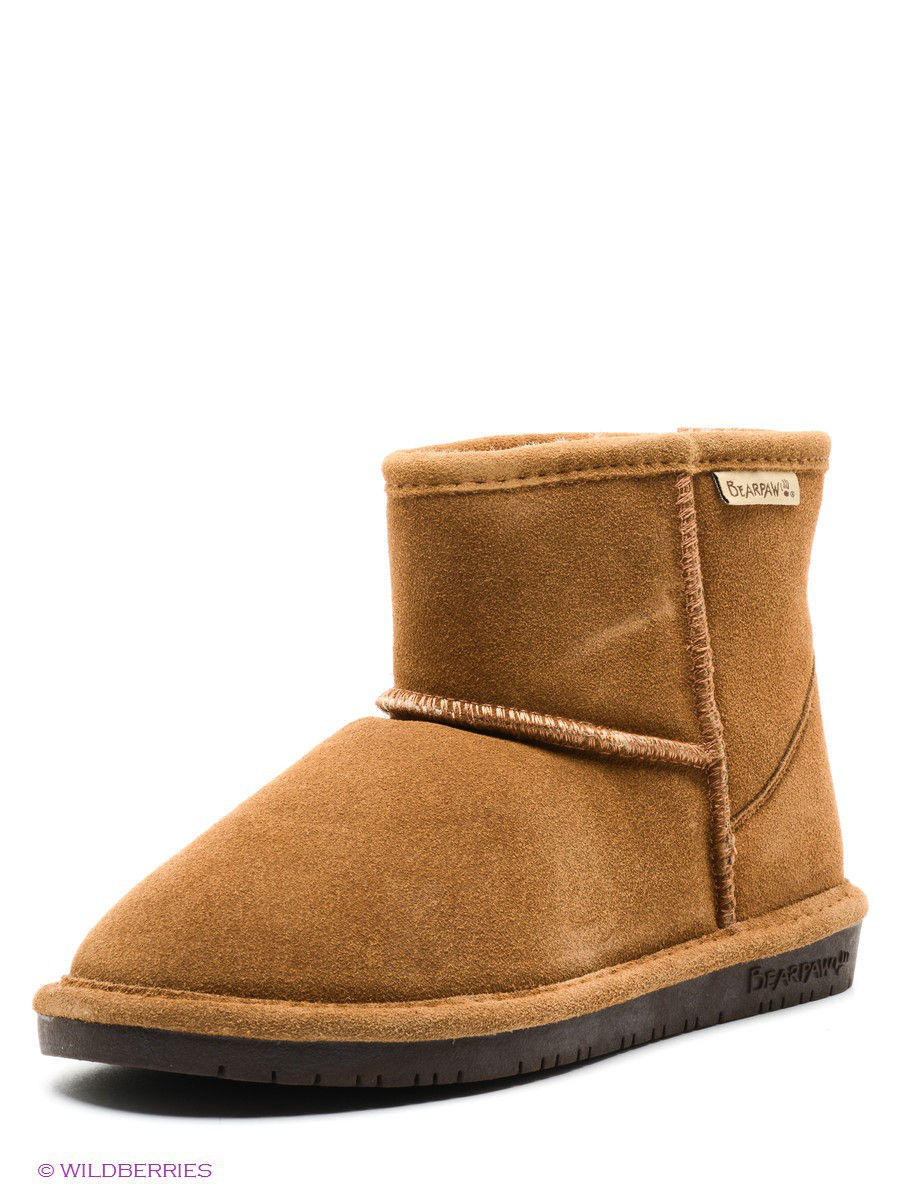 Женские угги Bearpaw 619W,hickory/chocolate: изображение 1