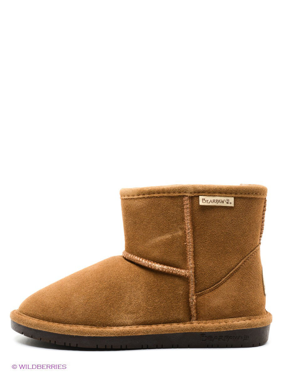 Женские угги Bearpaw 619W,hickory/chocolate: изображение 2
