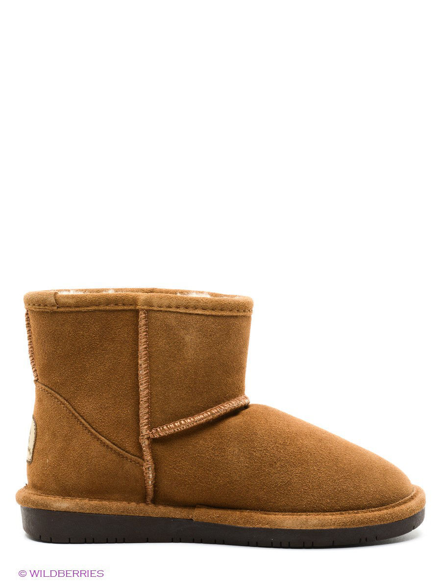 Женские угги Bearpaw 619W,hickory/chocolate: изображение 3