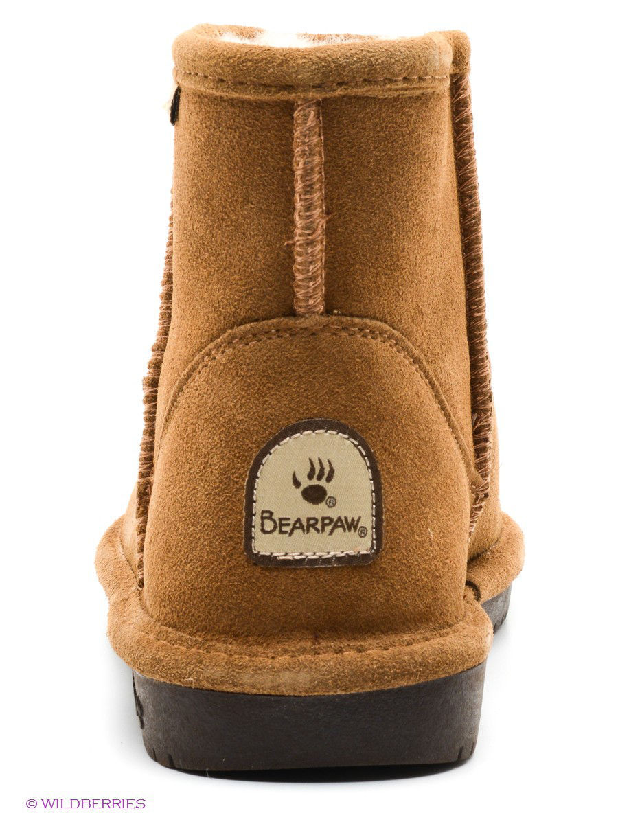 Женские угги Bearpaw 619W,hickory/chocolate: изображение 4