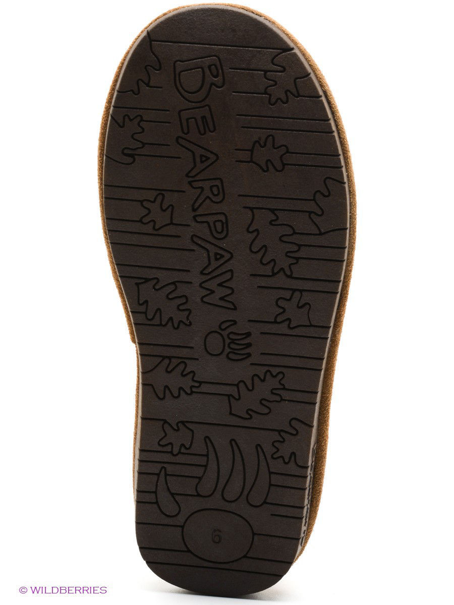 Женские угги Bearpaw 619W,hickory/chocolate: изображение 5