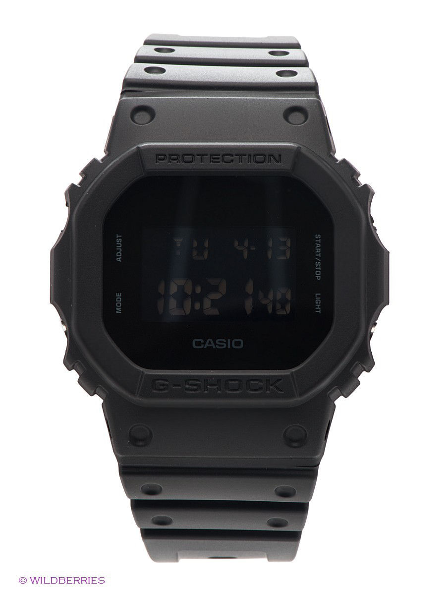 Часы наручные CASIO Часы G-SHOCK DW-5600BB-1E часы g shock dw 5600hr 1e casio