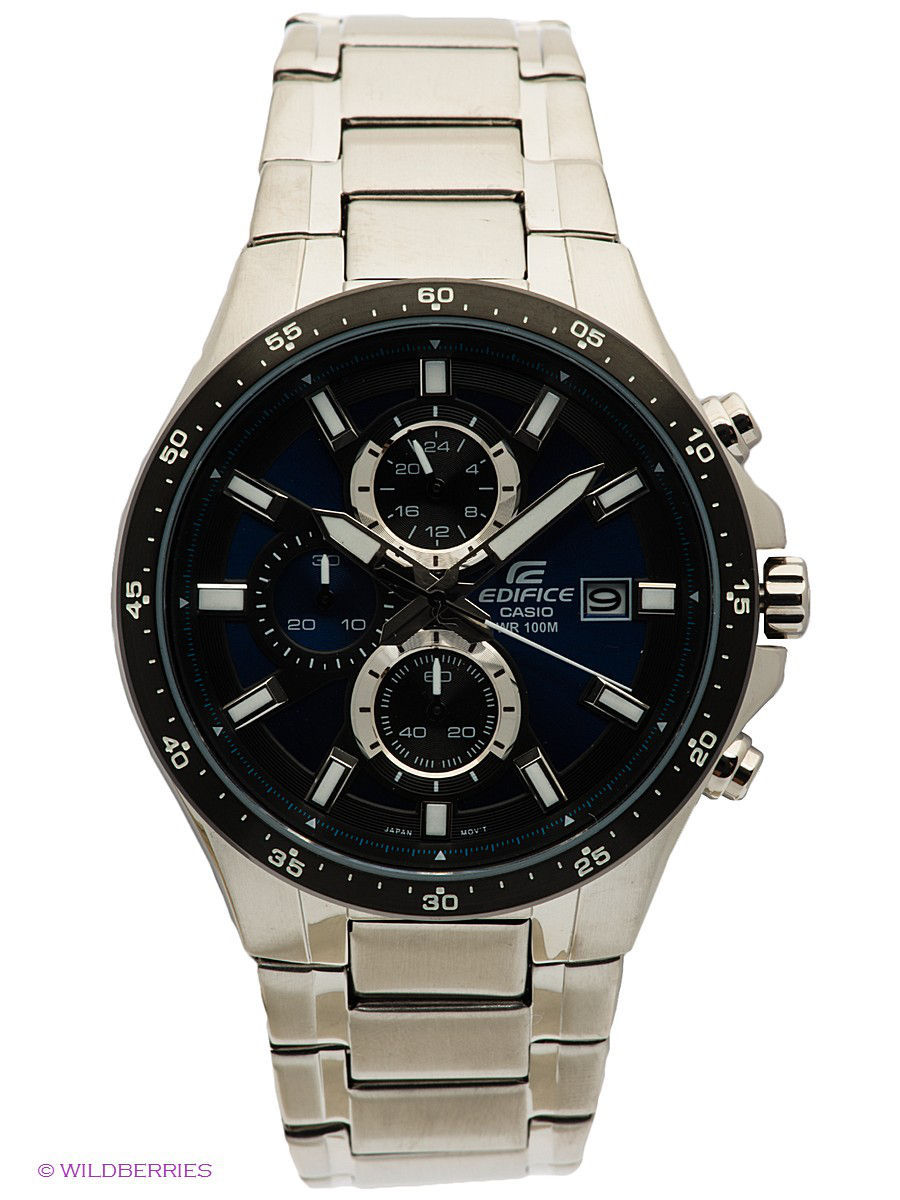 Часы наручные CASIO Часы EDIFICE EFR-519D-2A casio часы casio efr 539rb 2a коллекция edifice infiniti red bull racing