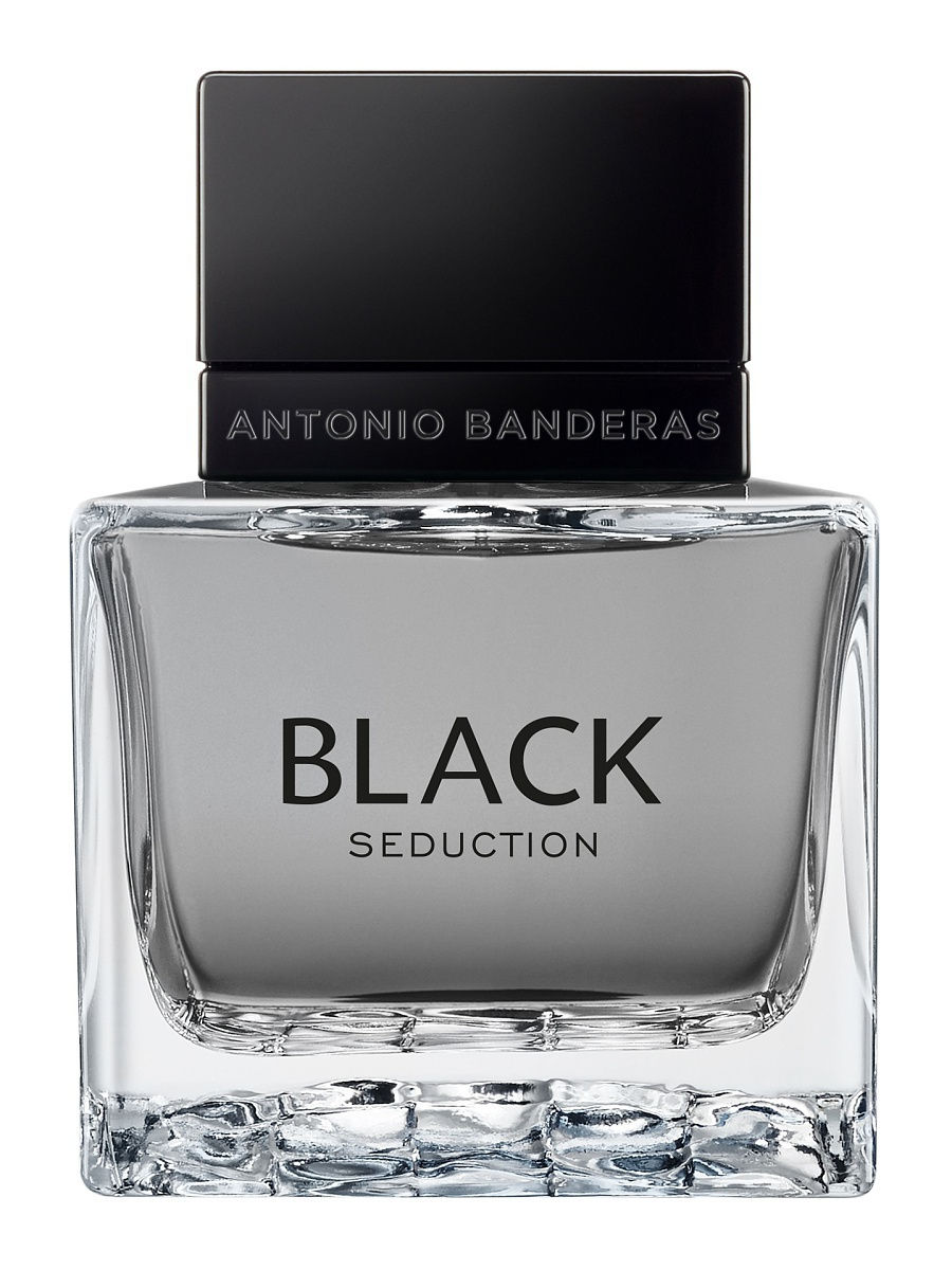 Туалетная вода ANTONIO BANDERAS Вода туалетная Seduction In Black Man, 50 мл спрей antonio banderas seduction in black splash 100 ml